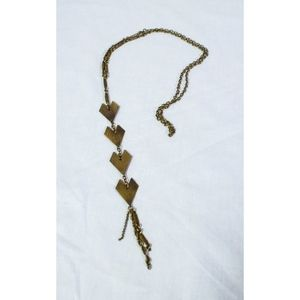 Urban Outfitters Long Geometric Necklace